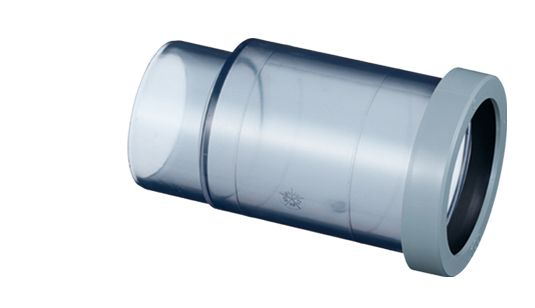 VP管用屋内排水用ヤリトリ伸縮継手