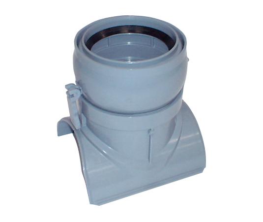 塩化ビニル管用ワンタッチ取付け支管(自在受口タイプ)