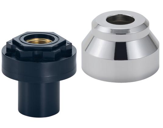 座付給水栓用ソケット[床上接続型](化粧カバー付)(A形)