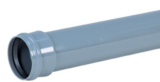 取付管用ゴム輪受口片受直管