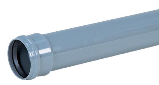取付管用ゴム輪受口両受直管