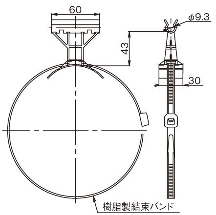 排水用継手 HT DV継手(高温排水用) - 掃除口