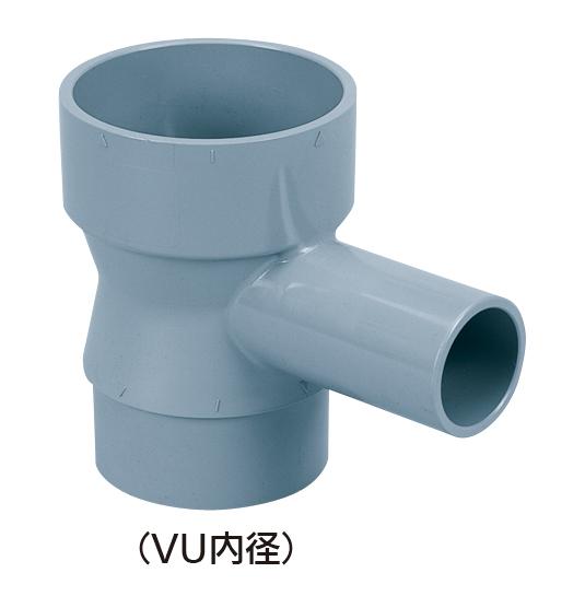 食洗機継手 縦型合流チーズ(VUパイプ内径接続型)