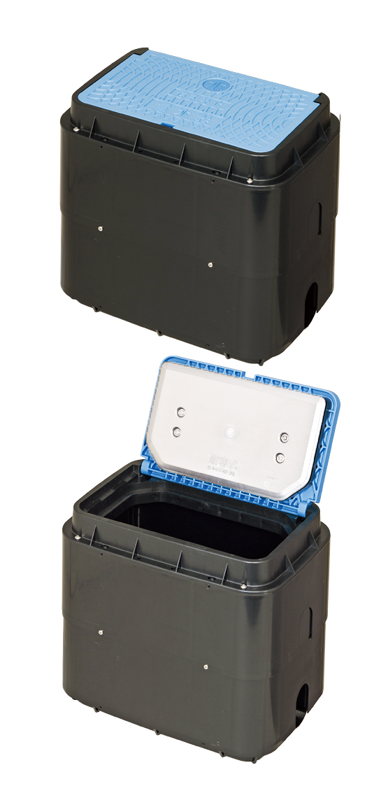 MCグリーン メーターボックス(寒冷地型、口径20mm)