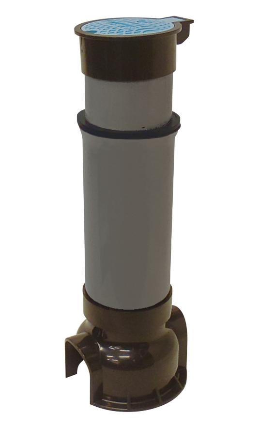 MNS止水栓ボックス(スライド型、サイズ75) R-PET製ふた