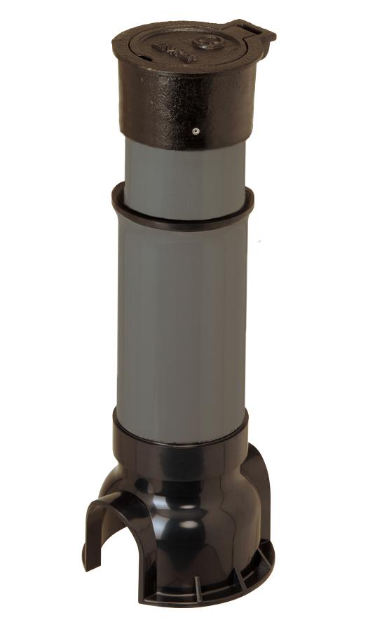 MNS止水栓ボックス(スライド型、サイズ75) FCD製ふた