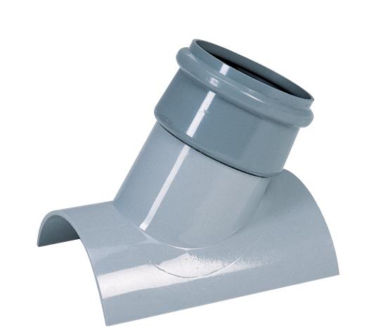 塩化ビニル管用管軸60°支管