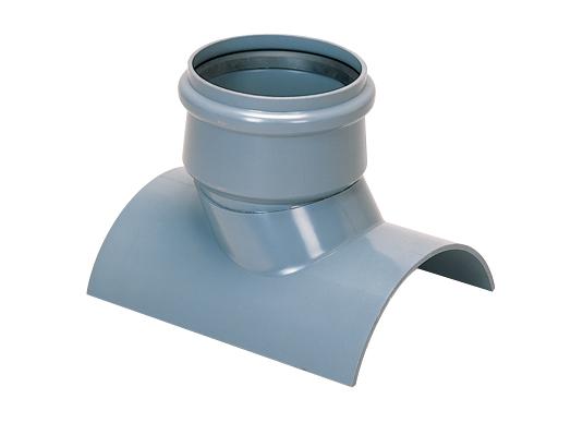 塩化ビニル管用60°直受支管