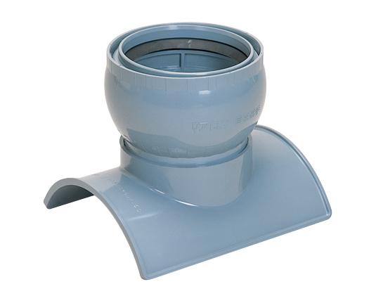 塩化ビニル管用90°自在支管