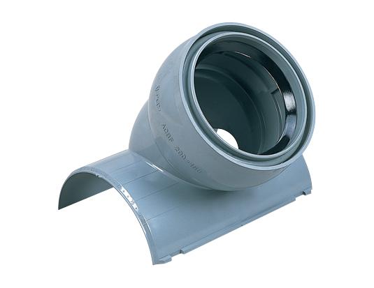 塩化ビニル管用コンパクト自在支管