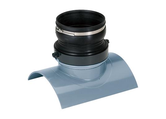 塩化ビニル管用ゴム製受口可とう支管