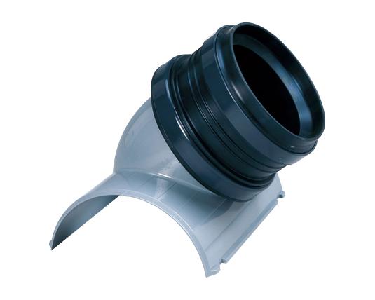 塩化ビニル管用コンパクト可とう支管