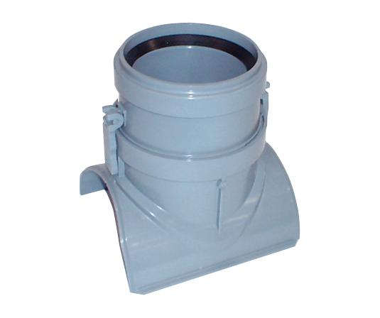 塩化ビニル管用ワンタッチ取付け支管(ゴム輪受口タイプ)