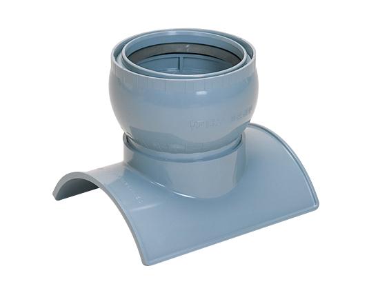 ヒューム管・陶管用90°自在支管