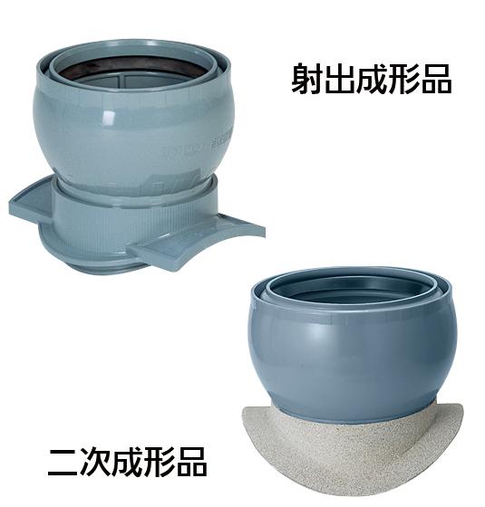 ヒューム管・陶管用A型90°自在支管