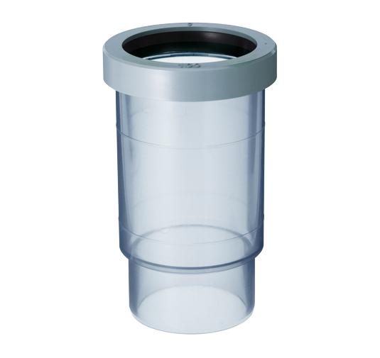 VP管用屋内排水用ヤリトリ伸縮継手(同芯タイプ)
