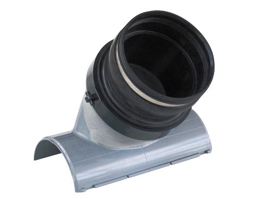 塩化ビニル管用コンパクト同径可とう支管
