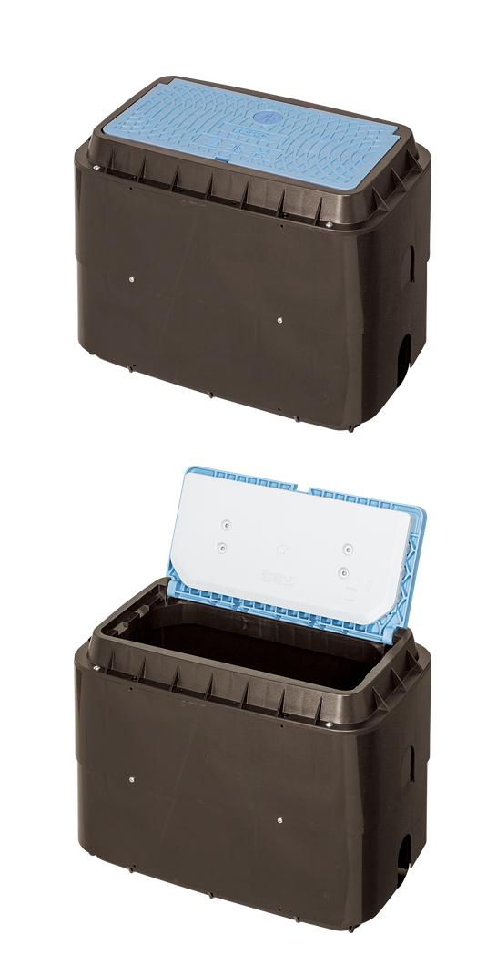 MCグリーン メーターボックス(寒冷地型、口径25mm)
