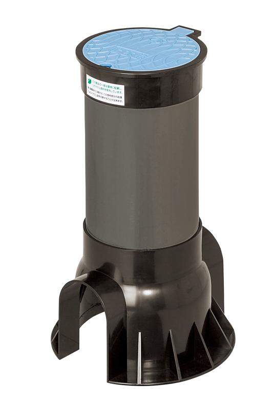 MSS止水栓ボックス(固定型、サイズ150) R-PET製ふた